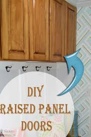 Make Raised Panel Cabinet Doors Remodelaholic How To Make A Shaker Cabinet Door