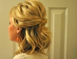 hairstyle half up half down bridesmaid newest u2013 wodip com