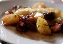 cuisiner poulpe frais tasca da elvira poulpe et pommes de terre au four
