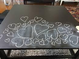 hemnes coffee table chalkboard ikea hackers ikea hackers