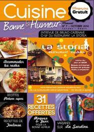 recettes de cuisine gratuite cuisine bonne humeur octobre 2014 edition 7 recettes de