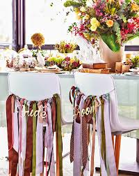 chair ribbons 8 pretty and decor ideas for your bridal chairs world