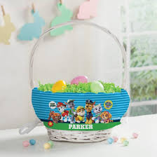 easter basket personalized paw patrol top pup easter basket walmart