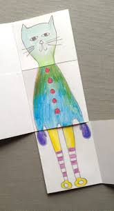 exquisite corpse drawing book art for kids and robots