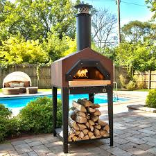 Backyard Grill Chicago by Chicago Brick Oven Americano Stand Pc Tc Americano Wood Burning
