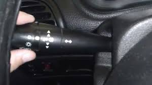 tutorial how to turn on fog lights peugeot youtube