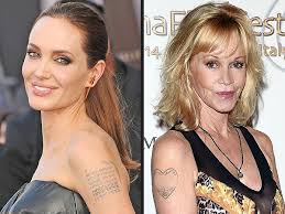 angelina jolie melanie griffith and more stars who have removed