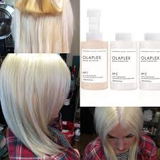 olaplex treatment damaged hair to healthy hair youtube