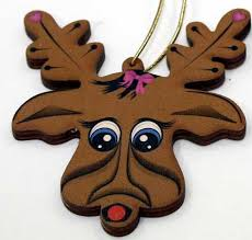 led reindeer ornament cin s crafts