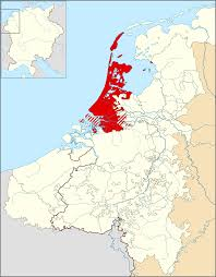 Map Of Netherlands County Of Holland Wikipedia