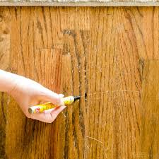 Repair Scratches In Wood Floor How To Repair Wood Floor Scratches Quick Fix Friday Polished