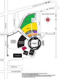 Unlv Map Men U0027s Basketball Tickets And Parking Unlv Rebel Athletic Fund