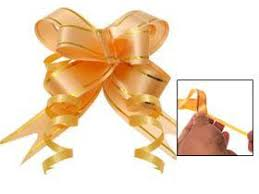 pull ribbon 24 pull string bows instant bow ribbon gift wrap