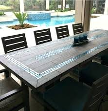 tile in dining room tile top patio table russellarch com