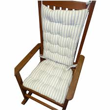 navy blue rocking chair pads white lowes rocking chairs with blue