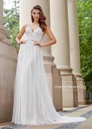wedding dress eng sub embroidered v neckline a line wedding gown 118254 stanza