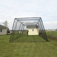 Backyard Batting Cages Reviews Free Standing Batting Cage System Batting Cages Baseball