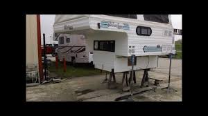 Shadow Cruiser Floor Plans 1996 Shadow Cruiser 7 U0027 Slide In Pop Up Truck Camper Youtube