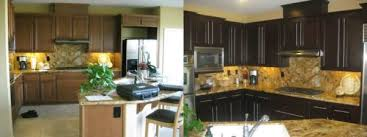 Attractive Nhance Kitchen Cabinet Color Change Using Black Duratex - Change kitchen cabinet color