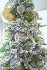 176 best christmas trees white silver gold images on pinterest