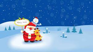cute merry christmas animation cheminee website