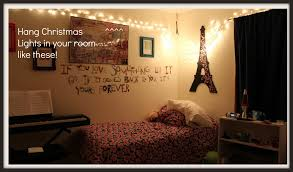 fashionable ideas how to hang christmas lights in bedroom without