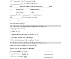 4 455 free verb tense worksheets worksheets