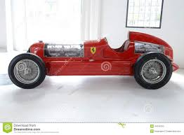 Alfa Romeo Bi Motore Monoposto Racing Car Editorial Stock Photo