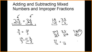 Adding Fractions Worksheets 5 Adding Improper Fractions Media Resumed