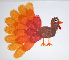 turkey cone craft thanksgiving and fall crafts for