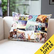 personalized pillow custom cushion with photo personalized pillow with collage on cushion