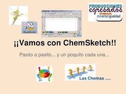 nuestros tutorialitos chem sketch
