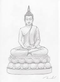 152 best sketching images on pinterest thai art buddha art and