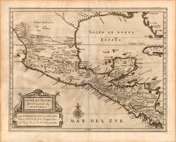 Nova Map Nova Hispania Nova Galicia Guatimala Yana U0026 Marty Davis Map