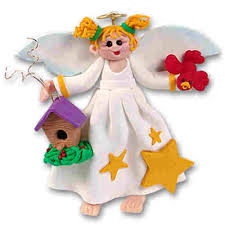 Christmas Decorations Angel Hair by Christmas Decorations