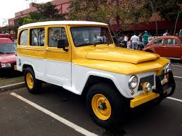 old yellow jeep 68 rural willys brazil 14000 classic u0026 collector car pictures