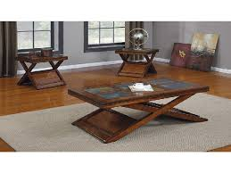 Coffee And End Table Sets End Tables Designs Appealing Looked In Brown Combined To