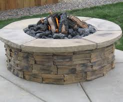 splendiferous stone fire pit backyard diy then how to be to