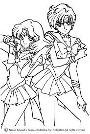 sailor moon portrait coloring pages hellokids