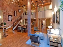warehouse loft apartment apartments with brick walls efeacd