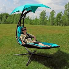 Lounge Chair Umbrella Sunnydaze Floating Chaise Lounge Chair