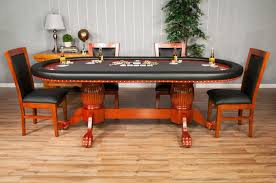 High End Dining Room Chairs The Rockwell High End Furniture Poker Table With Dining Top