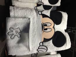 Mickey And Minnie Mouse Bedding Bathroom Wondrous Mickey Mouse Bathroom Disney Cartoon For