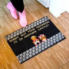 Geek Doormat Doormat Your Princess Is In Another Castle Getdigital