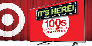 target black friday doorbusters only instore got your cart ready target u0027s black friday ad has arrived