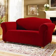 Loveseat Cover Walmart Decorating Sure Fit Soft Suede Loveseat Cover For Home Furniture