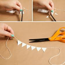 banner cake topper learn how to make a and simple bunting cake topper