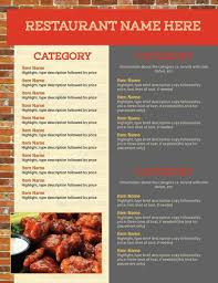 design your own restaurant menu with online menu design