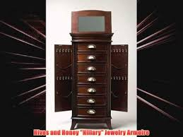 Hives And Honey Jewelry Armoire Hives And Honey Hillary Jewelry Armoire Youtube