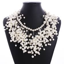 multi pearl necklace images Buy multi layer pearl necklace and get free shipping on jpg